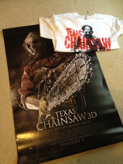 texas chainsaw 3D - goodies