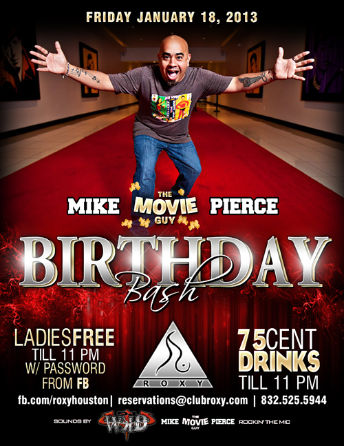 Mike Pierce - Birthday Bash
