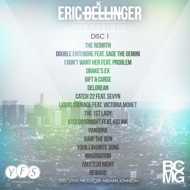 Eric Bellinger The Rebirth Disc 1 Artwork Crisco Kidd