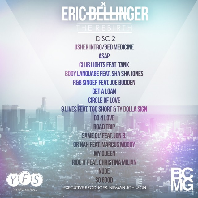 Eric Bellinger The Rebirth Disc 2 Artwork Crisco Kidd